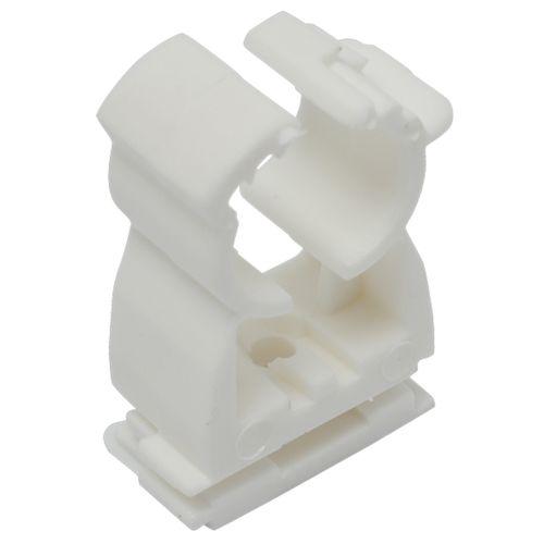 Sanivesk zadel met klikbevestiging wit 25 stuks 14-18mm