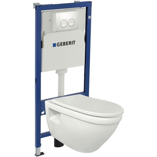 Pack WC suspendu 'Flora' Geberit 3/4 à 6/7,5L