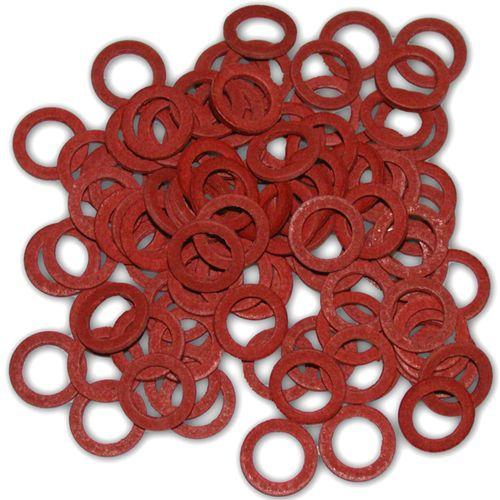 Sanivesk fiberringen/rubberring 120 stuks 4pp