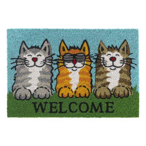 Sencys deurmat Ruco welcome katten 40x60cm