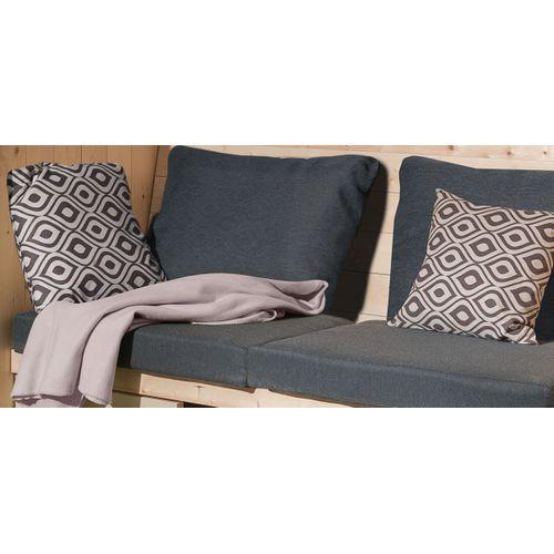 Coussin Weka gris pour pavillon Merano