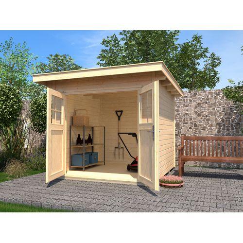 Weka tuinhuis 179 GR.4 naturel 295x239cm