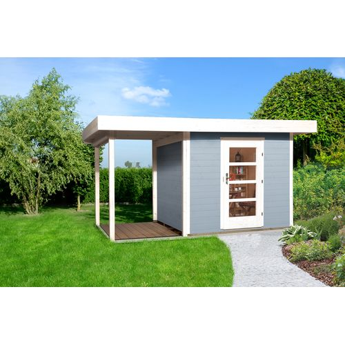 Abri de jardin Weka172 Type A GR2 gris