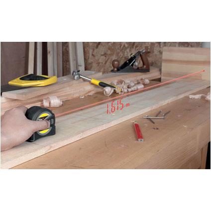 Multimètre laser 15m/mètre ruban 5m Sencys