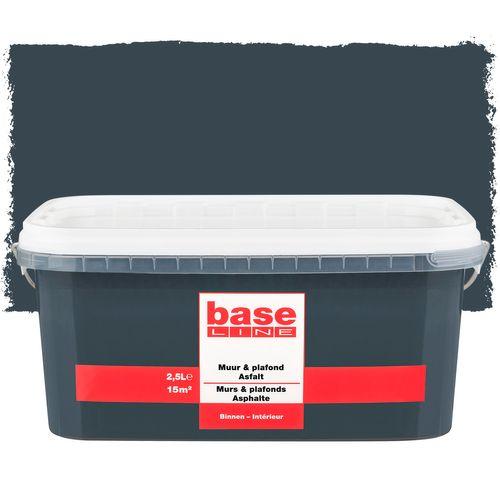 Peinture Baseline Murs & plafonds asphalte 2,5L