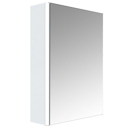 Allibert spiegelkast Stella met verlichting 50cm wit glanzend