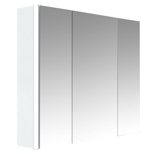 Allibert spiegelkast Stella met verlichting 80cm wit glanzend