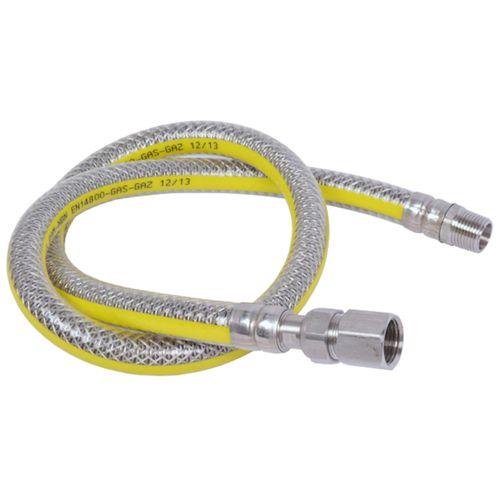 Sanivesk RVS flexibele gasslang wartel M24x75cm