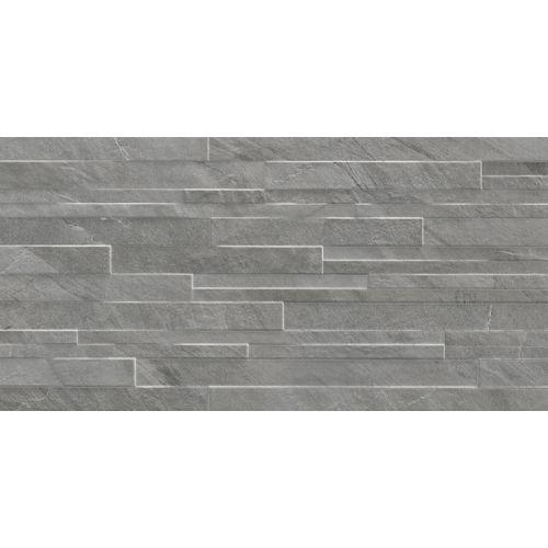 Wand- en vloertegel Pacific antraciet 30x60cm