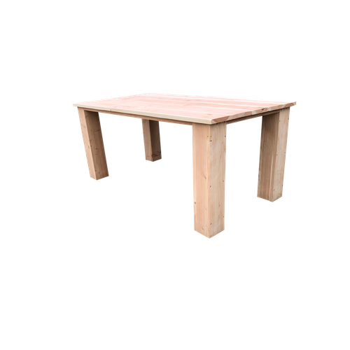 Wood4You tafel Texas douglashout bruin 150x100cm