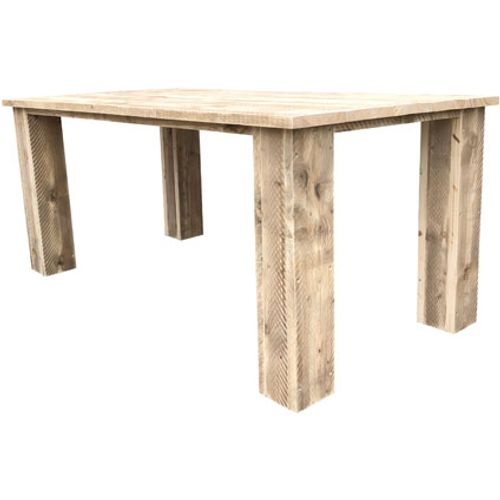 Wood4You tuintafel 'Texas' steigerhout 150 x 95 cm