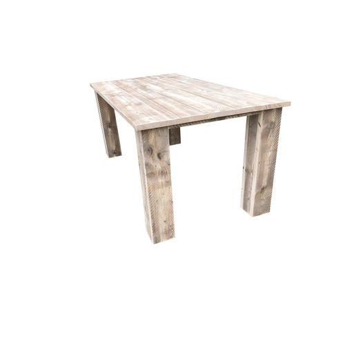 Table de jardin Wood4You 'Texas' bois de construction 200 x 95 cm