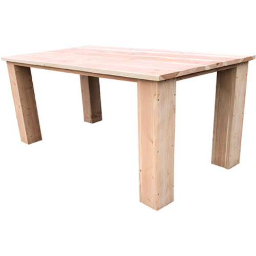 Wood4You tafel Texas douglashout bruin 160x76cm
