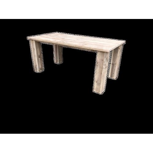 Wood4You tuintafel 'Texas' steigerhout 170 x 76 cm