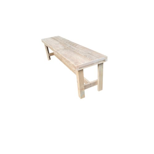 Banc de jardin Wood4you 'Rotterdam' bois de construction 150 x 38 cm