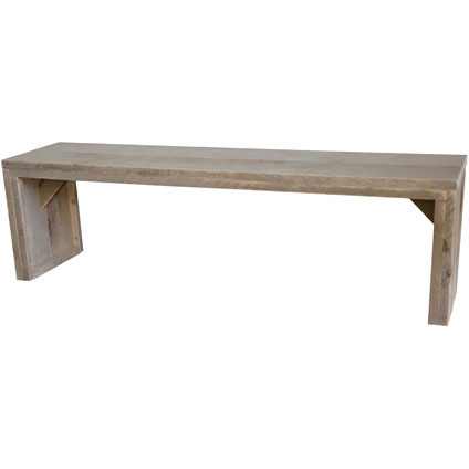 Wood4You loungebank 'Zaandam' bouwpakket steigerhout 150 x 38 cm