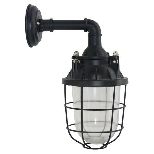 Brilliant wandlamp 'Storm' zwart 40W