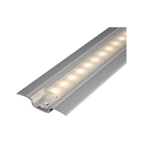 Profilé avec diffuseur Paulmann Step aluminium/plastique 100cm