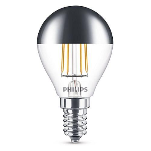 Philips LED-lamp LED classic E14 4W Ø4,5cm edison