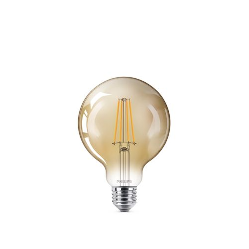 Ampoule LED globe Philips Deco 8W E27