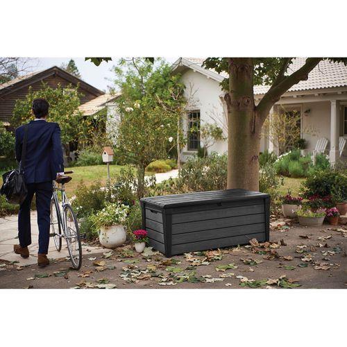 Keter opbergbox Brushwood grijs/antraciet 145x69,7cm