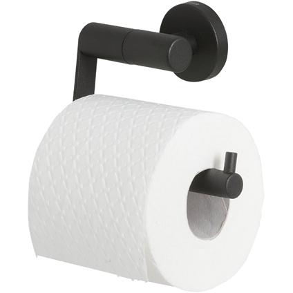 Tiger toiletrolhouder Boston zwart zonder klep