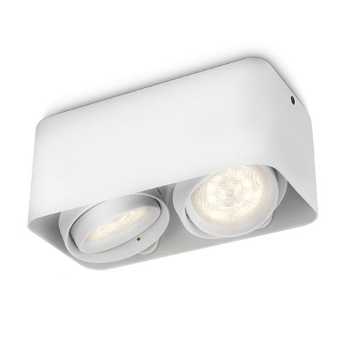 Philips spot LED Afzelia wit 2x4,5W
