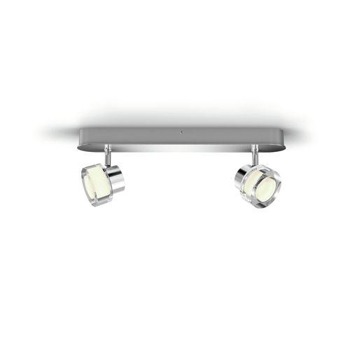 Philips spot LED Resort metaal 2x4,5W