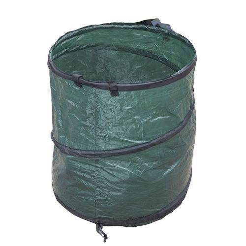 Sac à déchets pliable Nature PEHD 175L Ø56x71cm