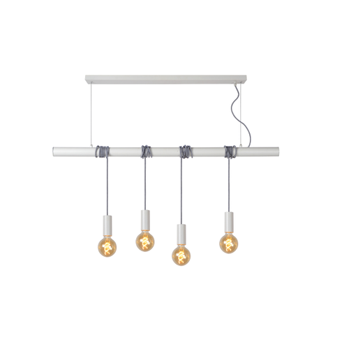 Lucide hanglamp Jaime wit
