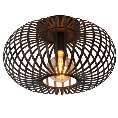 Lucide plafondlamp Manuela zwart Ø40cm E27