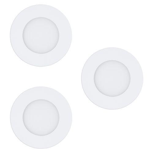 Spot encastrable LED EGLO Fueva-C blanc 3x9W