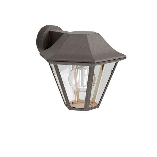 Philips wandverlichting Curassow bruin E28