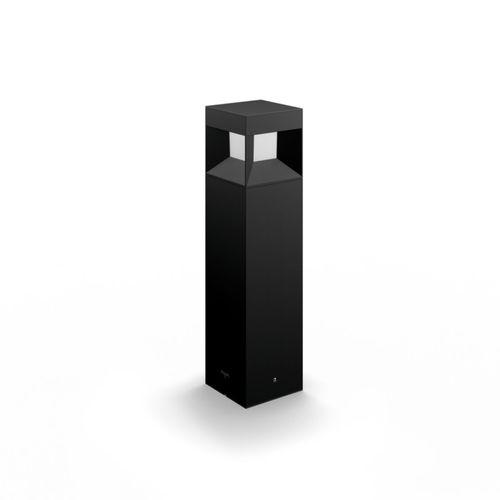 Lampadaire extérieur Philips Parterre noir