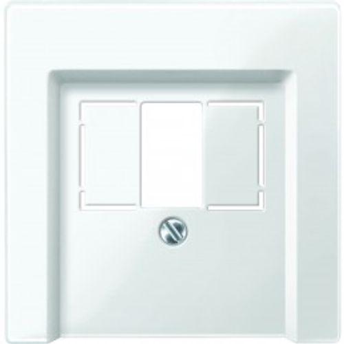 Schneider afdekplaat System-M USB wit