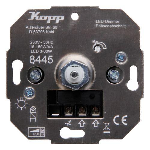 Kopp TechnikCenter sokkel dimmer LED RC 3-50W