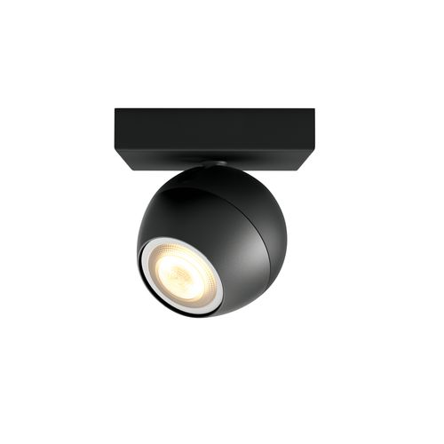 Philips Hue spot Buckram zwart uitbreiding 5,5W