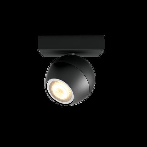 Philips Hue spot Buckram noir  5,5W extension