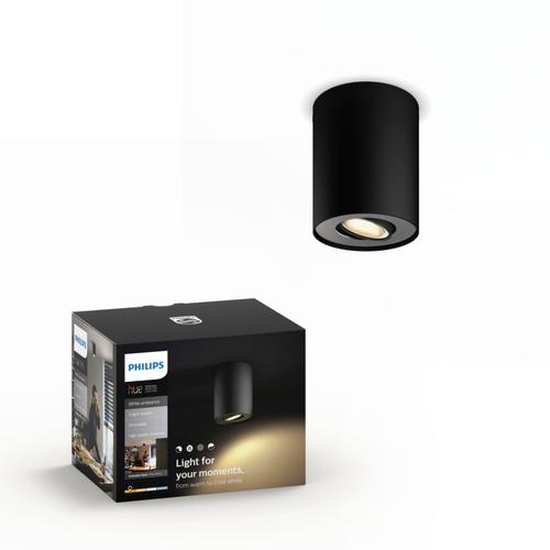 Philips Hue spot Pillar noir  5,5W extension