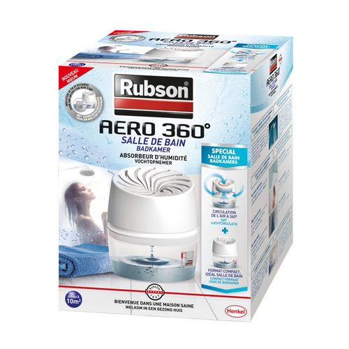 Rubson Vochtopnemer AERO 360 badkamer 450gr
