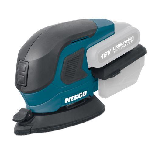 Wesco deltaschuurmachine WS2975.9 Bare Tool
