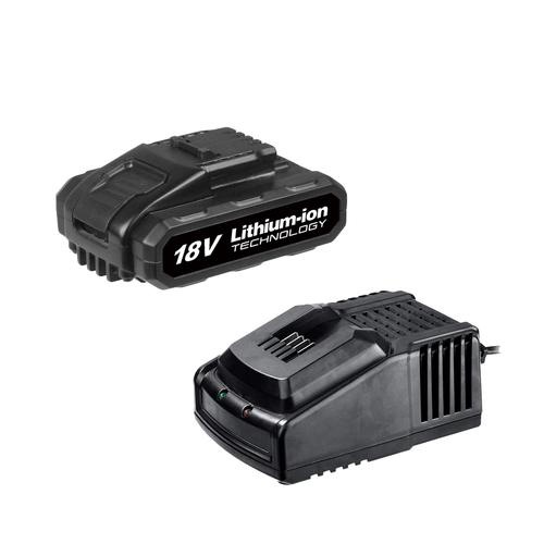 Wesco starterset WS9912 18V 1,5Ah Bare Tool accu + 1 uurs lader