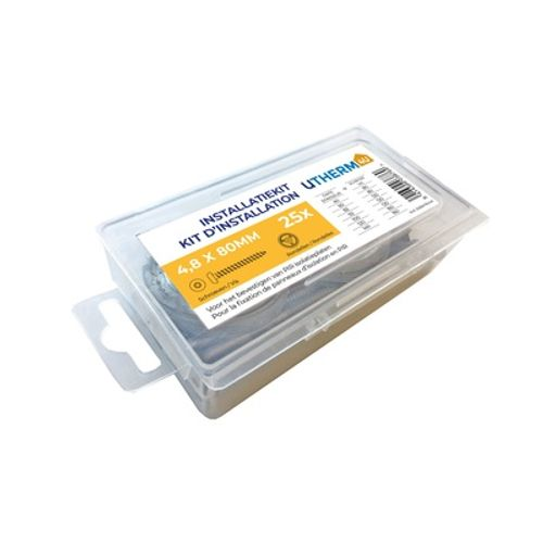 Vis et rondelles Coeck Utherm4u 4,8x120mm 25 pcs/blister