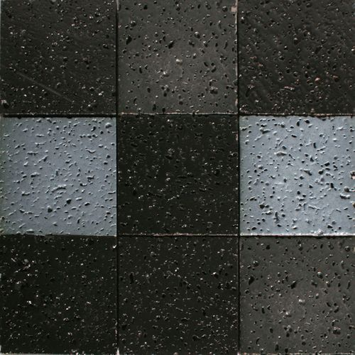 Mozaïek tegel Lava grijs mix 29,5x29,5cm