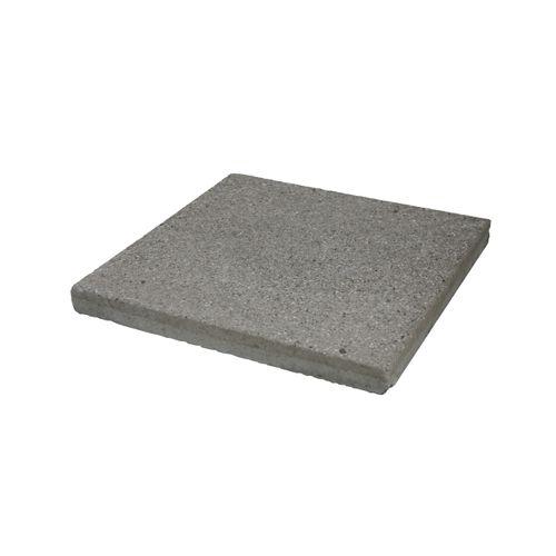 Decor terrastegel Gestraald Grijs beton 40x40x3,7 cm