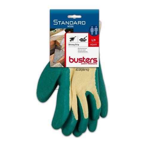 Busters handschoenen Strong Grip polyester groen/beige M9