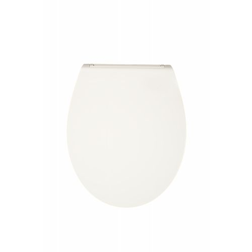 Abattant WC Aquazuro Silvi blanc Duroplast Softclose