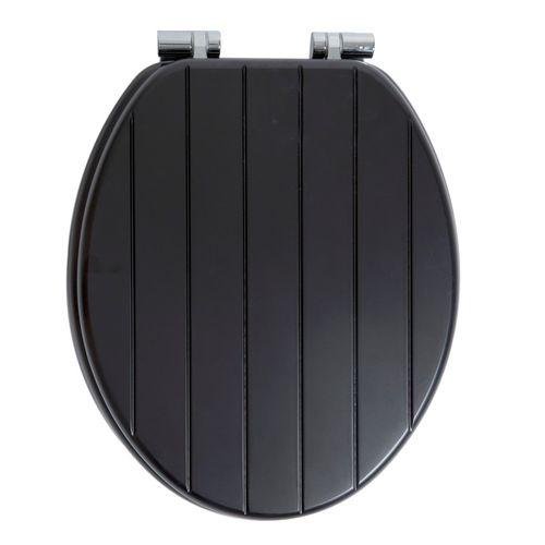 AquaVive toiletzitting Nice MDF zwart