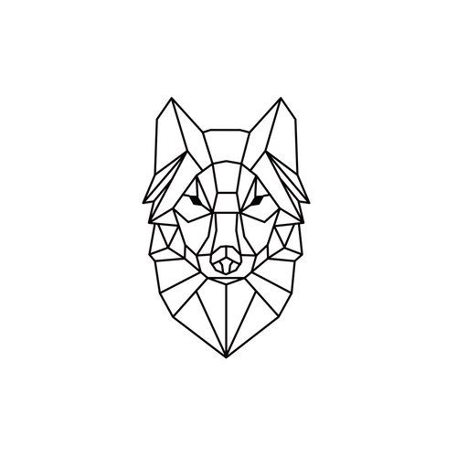 Abattant WC Aquazuro Loup blanc Duroplast Softclose
