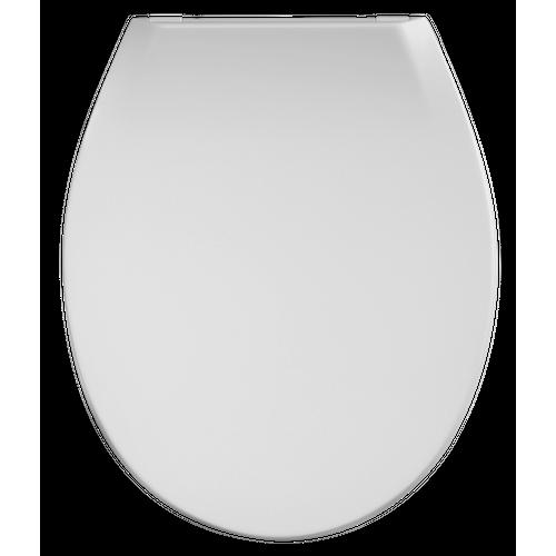 Abattant WC Aquazuro Capri blanc Thermoplast